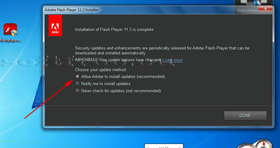 Tutorial Adobe Flash Player instalare