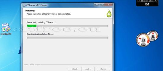 Tutorial CCleaner instalare