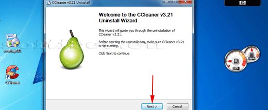Tutorial CCleaner dezinstalare detectare un-installer-ului
