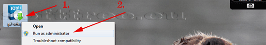 Tutorial IOBit Password Folder localizare executare
