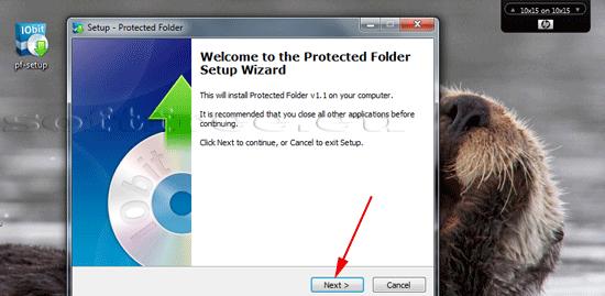 Tutorial IOBit Password Folder instalare
