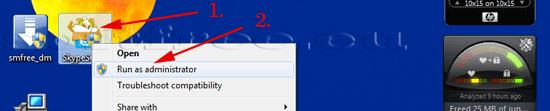 Tutorial Skype localizarea installer-ului pe desktop