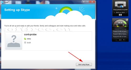 Tutorial Skype adăugare fotografie