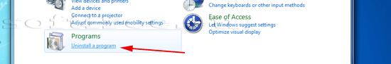 Tutorial Skype dezinstalare detectare un-installer-ului în panoul de control