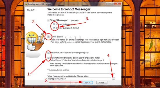 Tutorial Yahoo! Messenger personalizare instalare