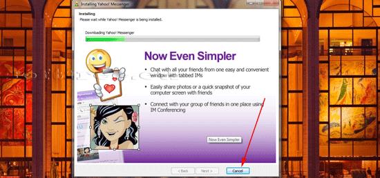 Yahoo! Messenger instalare