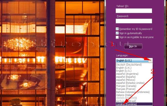 Yahoo! Messenger în limba română